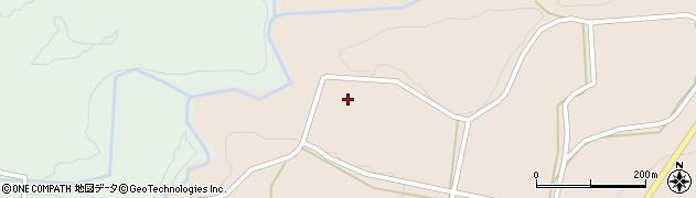 大分県竹田市直入町大字長湯長野周辺の地図