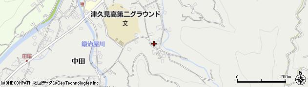 大分県津久見市津久見4791周辺の地図