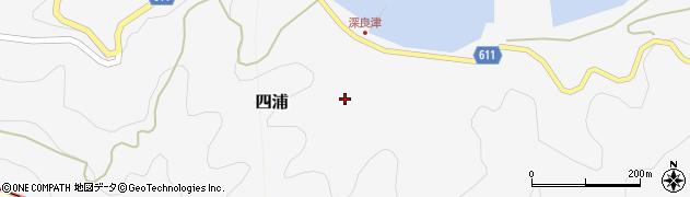 大分県津久見市四浦3112周辺の地図