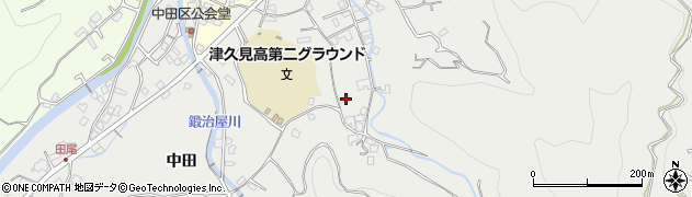 大分県津久見市津久見4736周辺の地図