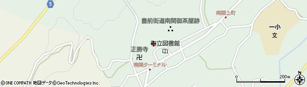 熊本県南関町(玉名郡)周辺の地図