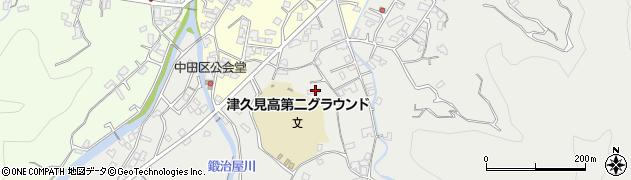 大分県津久見市津久見4881周辺の地図