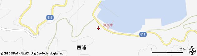 大分県津久見市四浦3062周辺の地図
