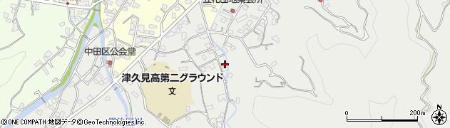 大分県津久見市津久見4834周辺の地図