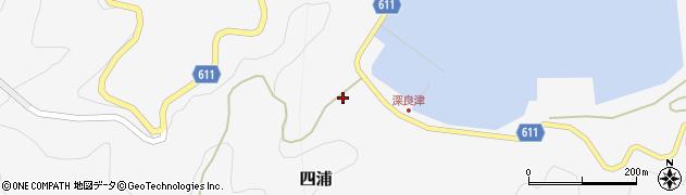 大分県津久見市四浦3074周辺の地図