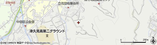 大分県津久見市津久見4195周辺の地図