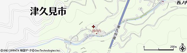 大分県津久見市津久見7868周辺の地図