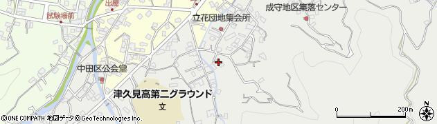 大分県津久見市津久見4594周辺の地図