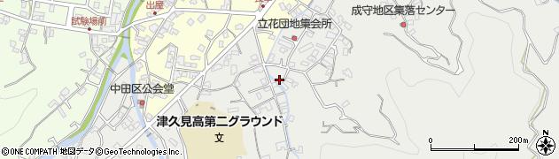大分県津久見市津久見4591周辺の地図