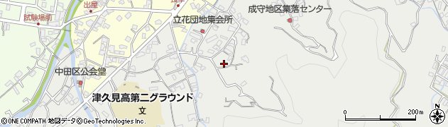 大分県津久見市津久見4215周辺の地図
