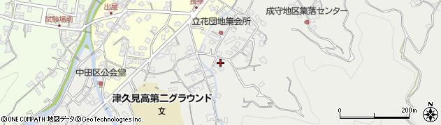 大分県津久見市津久見4607周辺の地図