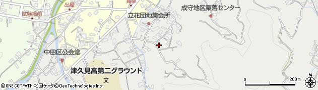 大分県津久見市津久見4213周辺の地図