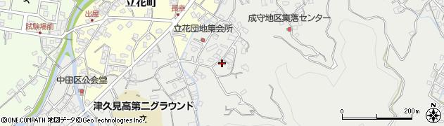 大分県津久見市津久見4214周辺の地図