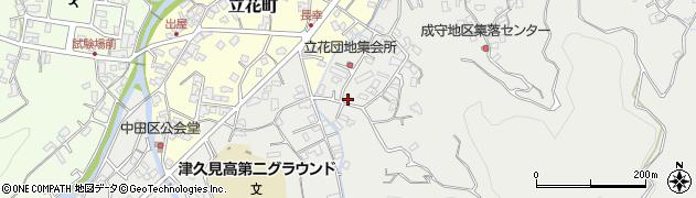 大分県津久見市津久見4273周辺の地図
