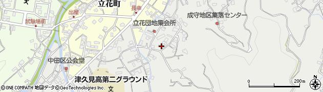 大分県津久見市津久見4264周辺の地図