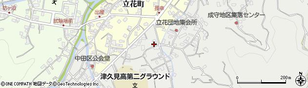 大分県津久見市津久見4581周辺の地図