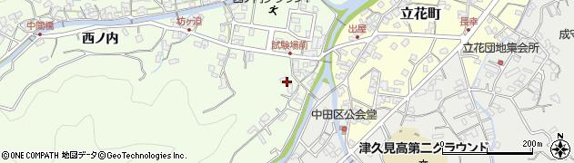 大分県津久見市津久見6643周辺の地図