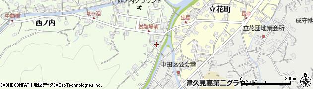 大分県津久見市津久見6641周辺の地図