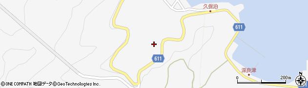 大分県津久見市四浦2840周辺の地図
