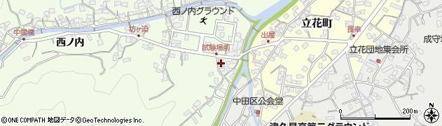 大分県津久見市津久見6639周辺の地図