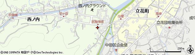 大分県津久見市津久見6648周辺の地図