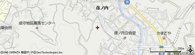 大分県津久見市津久見路木下周辺の地図