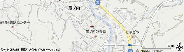 大分県津久見市津久見周辺の地図