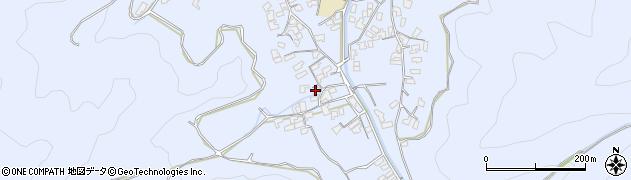 大分県津久見市千怒1741周辺の地図