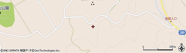 大分県竹田市直入町大字長湯2858周辺の地図