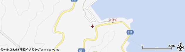 大分県津久見市四浦2979周辺の地図