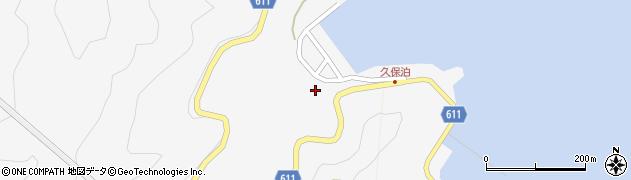 大分県津久見市四浦2976周辺の地図