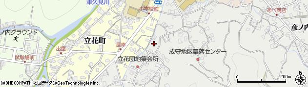 大分県津久見市津久見3951周辺の地図