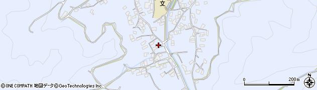 大分県津久見市千怒1729周辺の地図