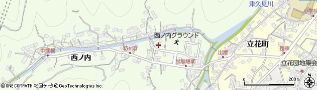 大分県津久見市津久見6820周辺の地図