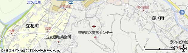 大分県津久見市津久見3125周辺の地図