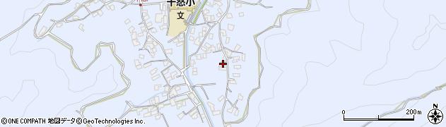 大分県津久見市千怒2640周辺の地図