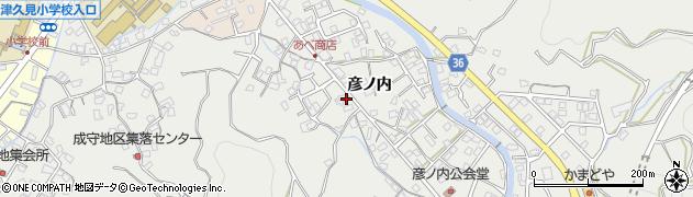 大分県津久見市津久見2361周辺の地図