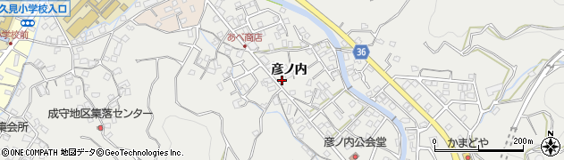 大分県津久見市津久見2352周辺の地図