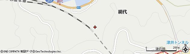 大分県津久見市網代2137周辺の地図