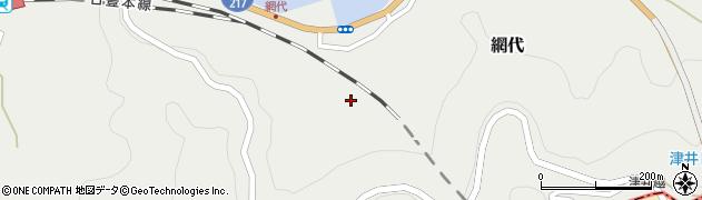 大分県津久見市網代1992周辺の地図