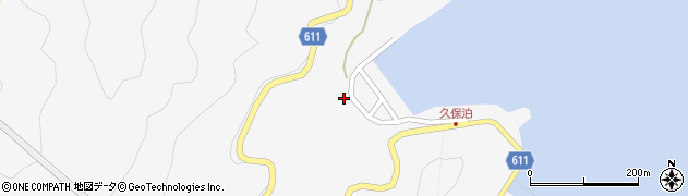 大分県津久見市四浦2963周辺の地図
