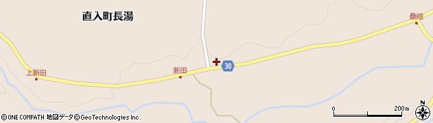大分県竹田市直入町大字長湯3958周辺の地図