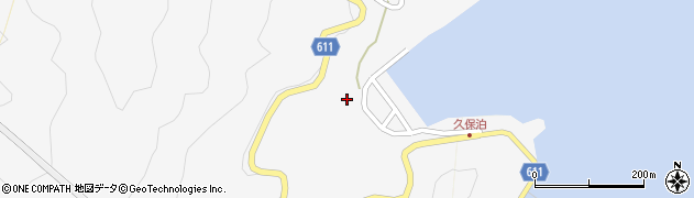 大分県津久見市四浦2927周辺の地図