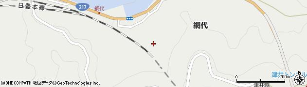 大分県津久見市網代2178周辺の地図