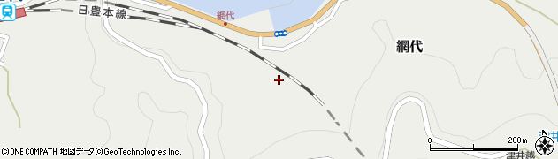 大分県津久見市網代1971周辺の地図