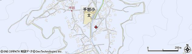 大分県津久見市千怒2753周辺の地図