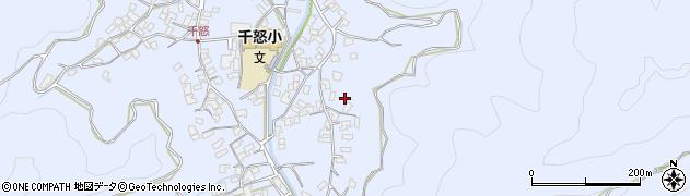 大分県津久見市千怒2789周辺の地図