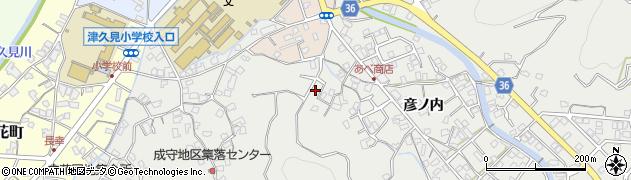 大分県津久見市津久見2511周辺の地図