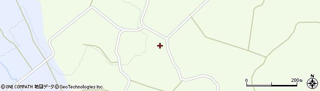 大分県竹田市久住町大字仏原216周辺の地図