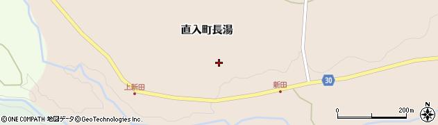 大分県竹田市直入町大字長湯3852周辺の地図